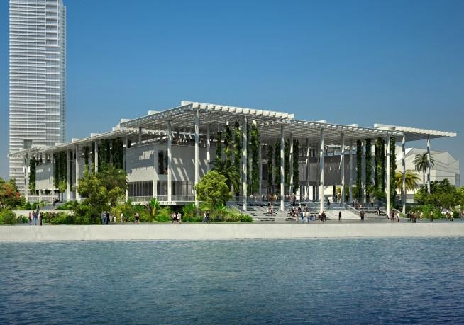 The Perez Art Museum by Herzog & de Meuron