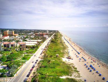 Delray Beach, FL aerial